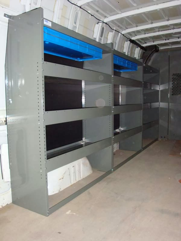 Dodge Mercedes Sprinter Van Shelving Promaster Van Shelving Dodge Mercedes Sprinter