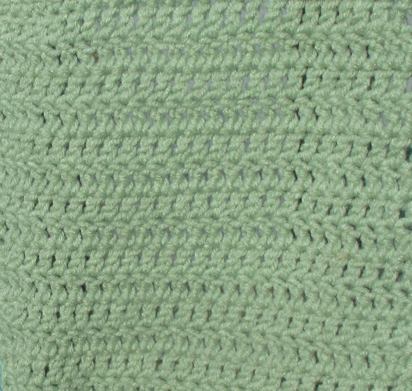 ReCrochetions: Sampler Square #2 - Double Crochet (dc)