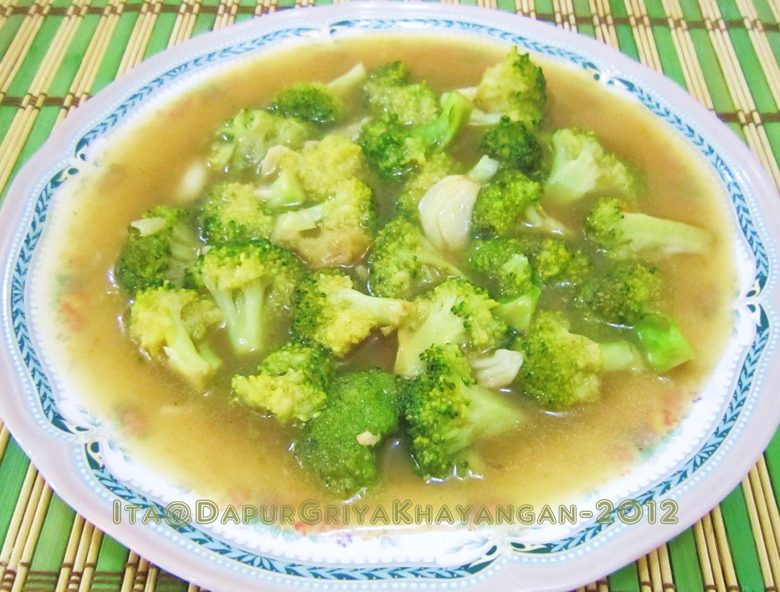 Dapur Griya Khayangan Cah Brokoli Saos Tiram