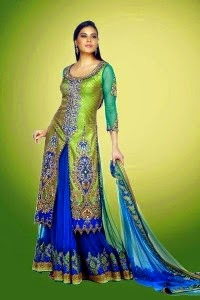 New Lacha Dress Collection 2014-2015 For Girls