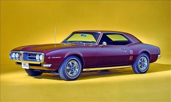The Best Old Muscle cars 1968 Pontiac Firebird Coupe