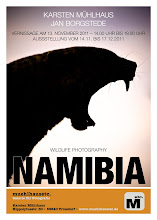 Foto-Ausstellung NAMIBIA Wildlife Photography - alle sind herzlich willkommen