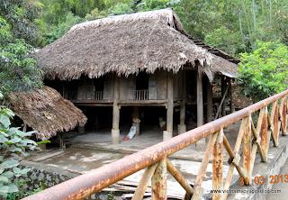 Maison sur pilotis Hòa Bình, Vietnam