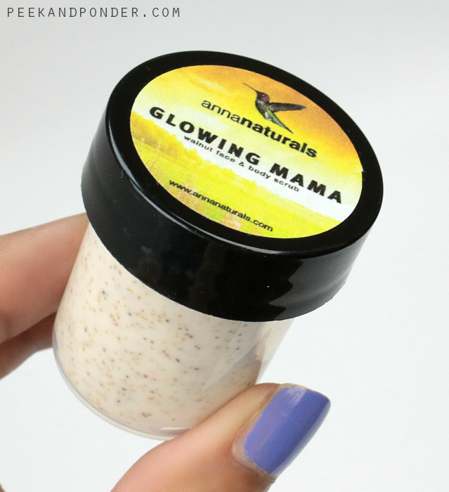 Anna Naturals Glowing Mama Walnut face & body scrub