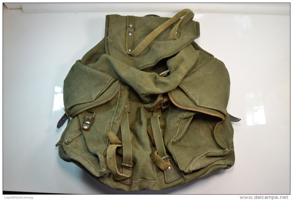 webbingbabel french army backpack 50s sac a dos arm e. Black Bedroom Furniture Sets. Home Design Ideas