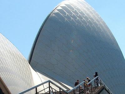 sydney opera house by mike hitchen
