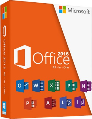 Microsoft Office 2016 Professional Plus 16.0.4498.1000 Abril 2017 poster box cover