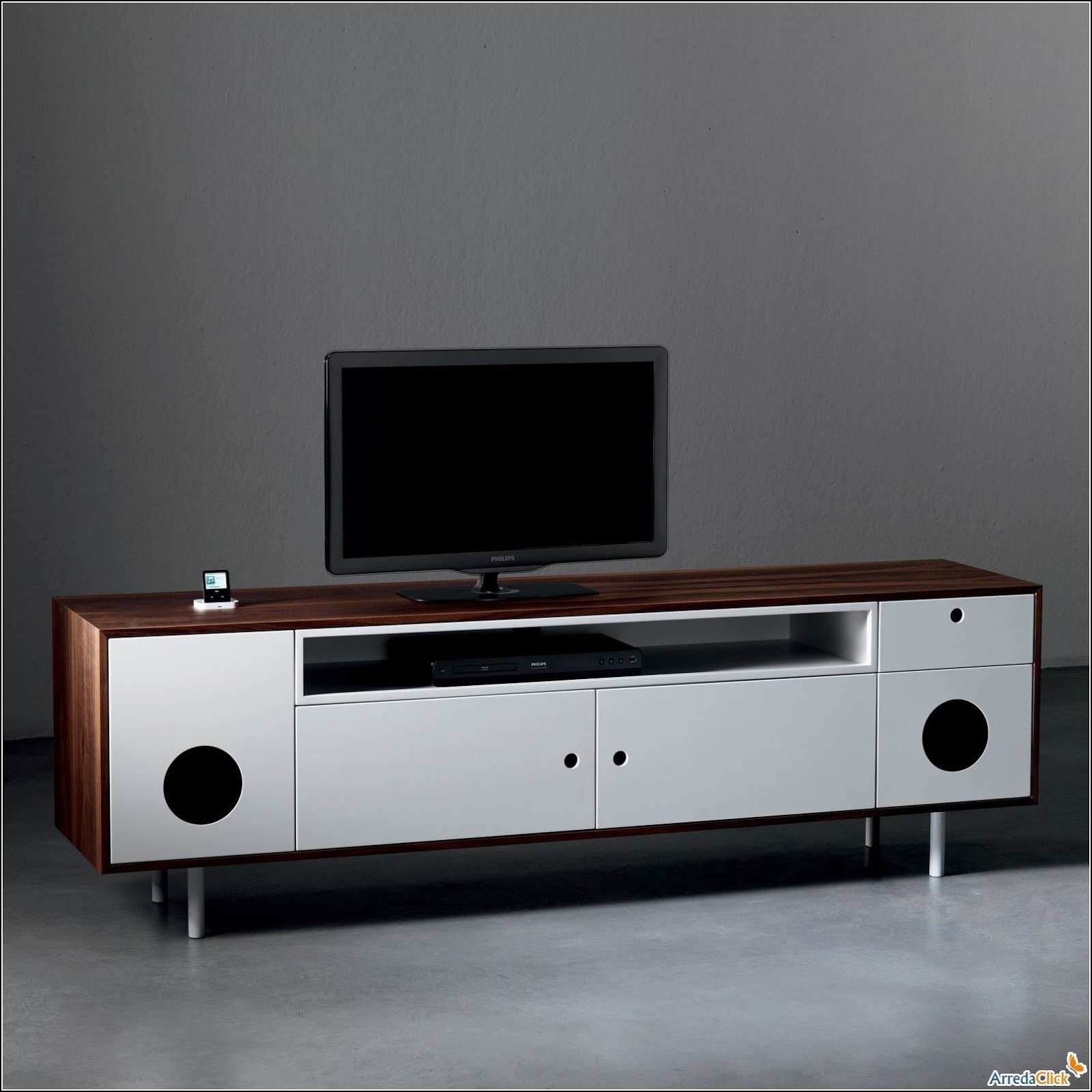 Arredaclick muebles italianos online muebles para televisor - Muebles para el televisor ...