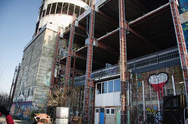 """449, Baustelle Field Station Berlin """"Teufelsberg"""" Teufelsseechaussee 10, 14193 Berlin, 14.02.2015"""