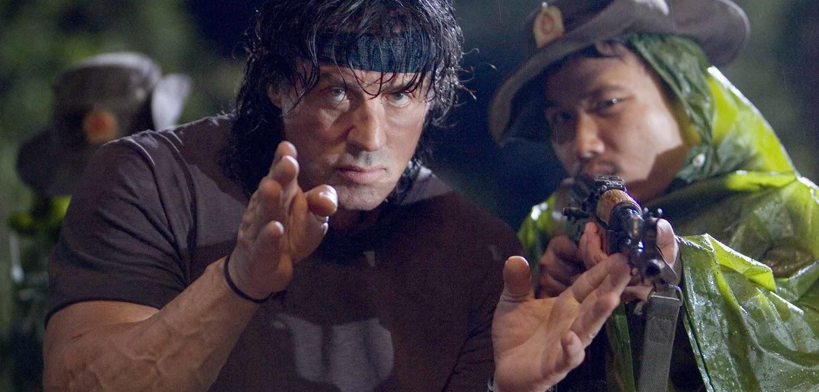 Sylvester Stallone se prepara para as filmagens de Rambo 5