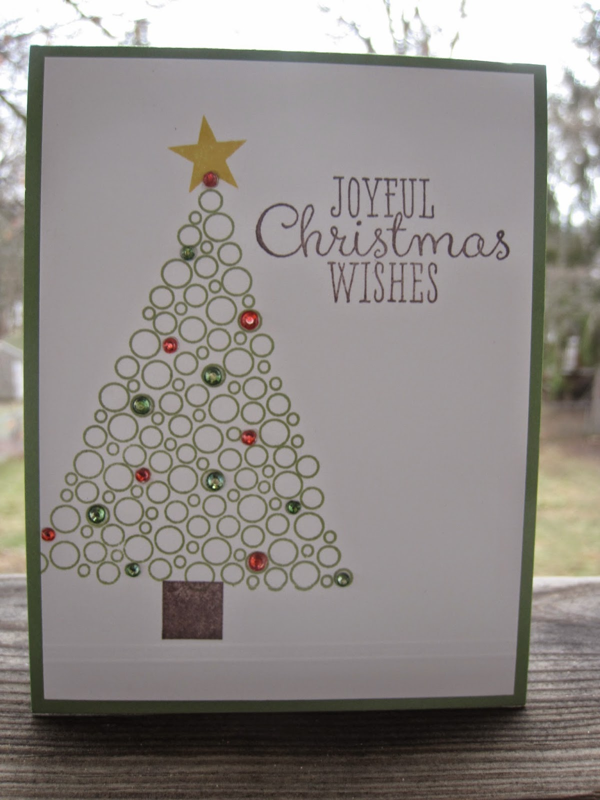 Purple Lake Stamps: Jeweled Christmas