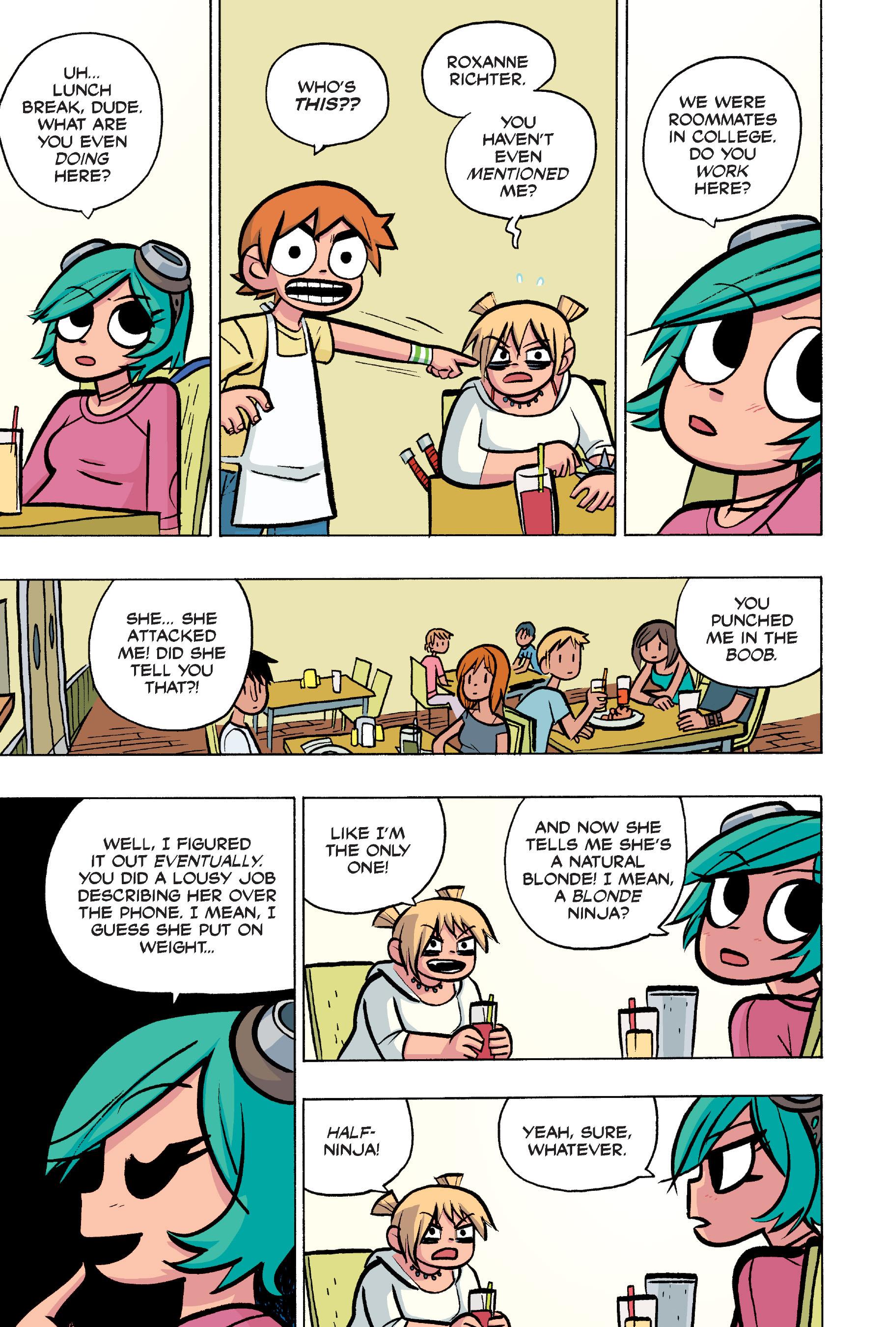 Read online Scott Pilgrim comic -  Issue #4 - 108
