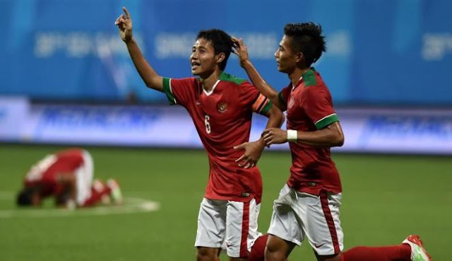Timnas Indonesia U23  Berhasil Lolos Ke Babak Semifinal Sea Games 2015