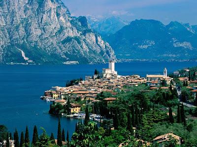 озера в италии