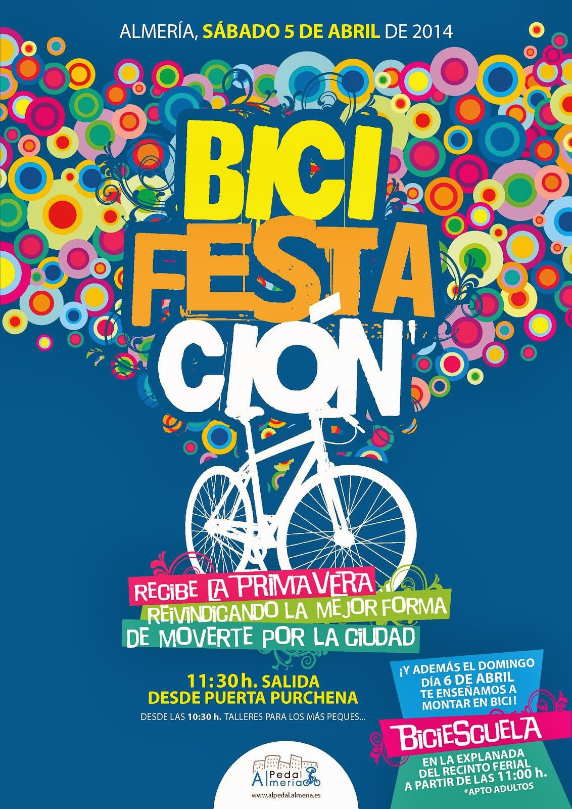 BiciFestación y BiciEscuela 2014