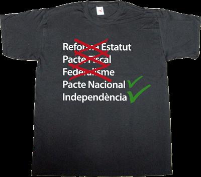 catalan catalonia independence freedom referendum t-shirt ephemeral-t-shirts