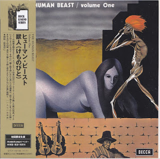 THE HUMAN BEAST - VOLUME ONE (DECCA 1970) Jap mastering cardboard sleeve