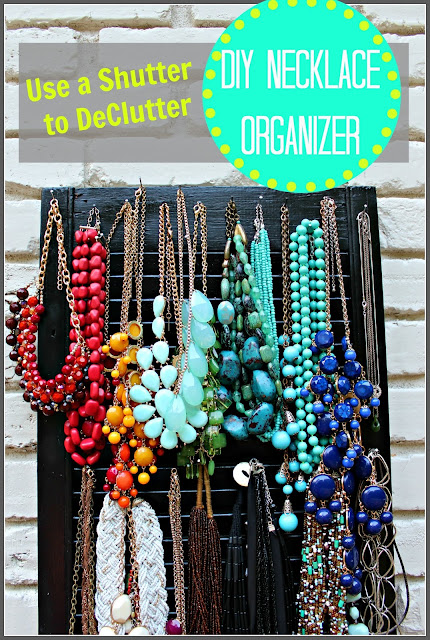 DIY Necklace Organizer
