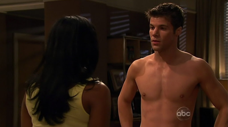 Nic Robuck Shirtless on One Life To Live 20110429