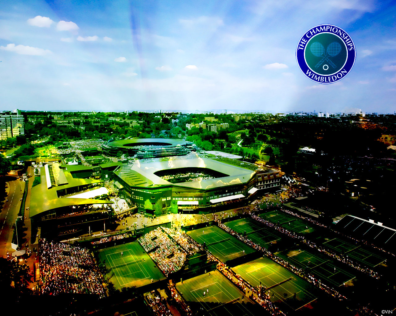 Stadium Wimbledon Hd Wallpaper Desktop
