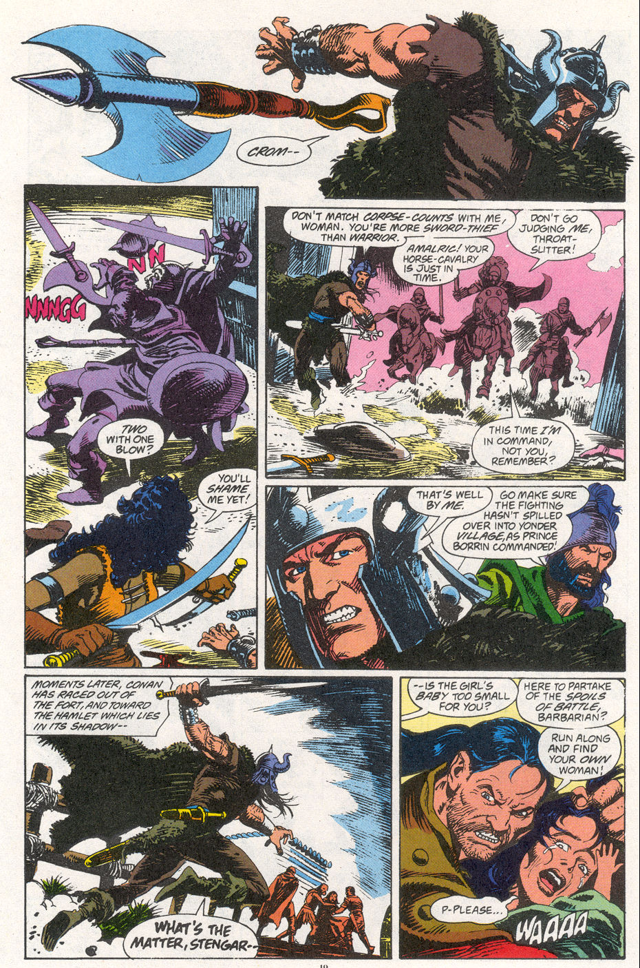 Conan the Barbarian (1970) Issue #266 #278 - English 14