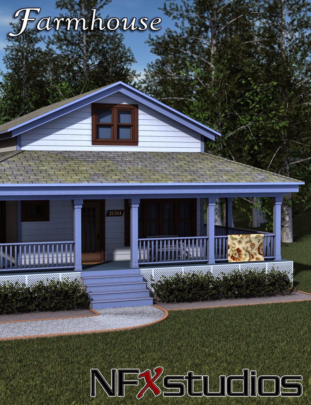3d Models - NFXstudios Farmhouse