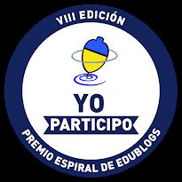 """Premio """"Espiral Edublogs""""."""