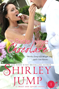 Now available on Kindle and Nook! THE BRIDE WORE CHOCOLATE