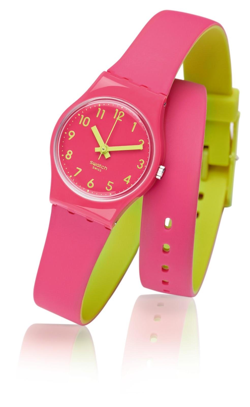 d4b3c02602e Chegado ao mercado - relógios Swatch Biko Roose Colecção Summer Buzz