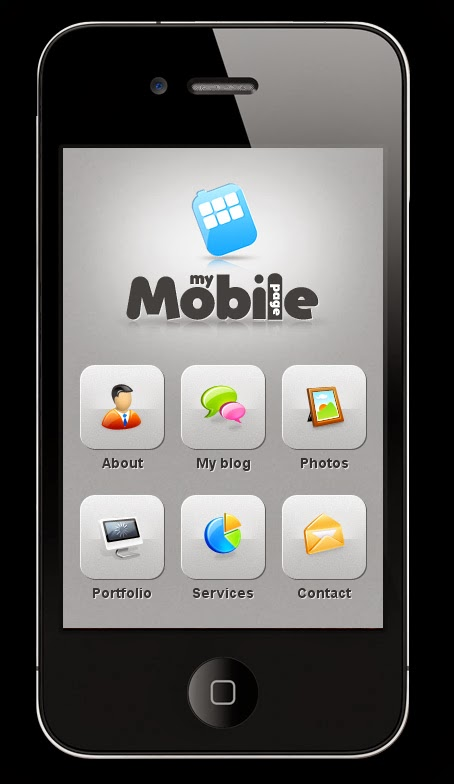 My Mobile Page V2 WordPress Theme