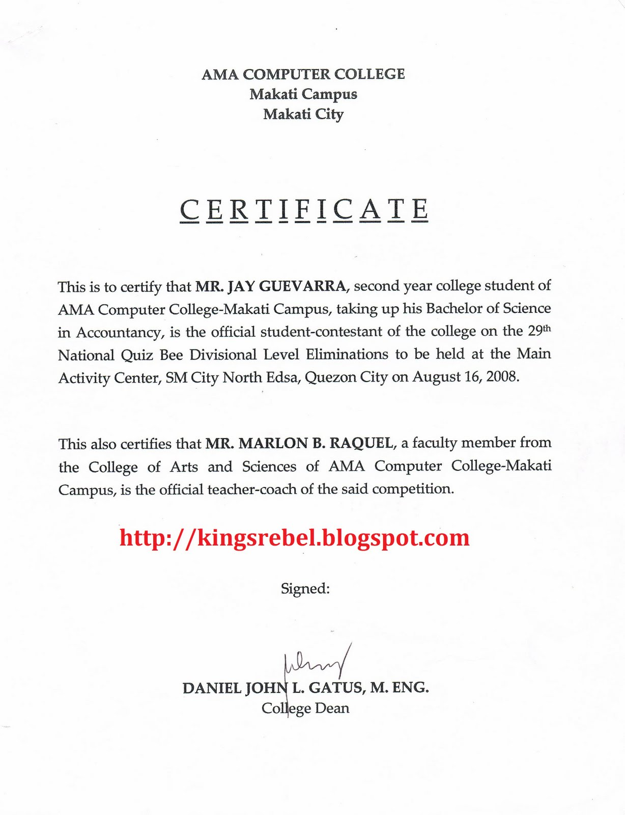 Tidbits And Bytes Example Of Certificate Of Coaching 29th