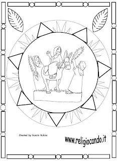 Me gusta la clase de religión: Mandalas Semana Santa y Pascua
