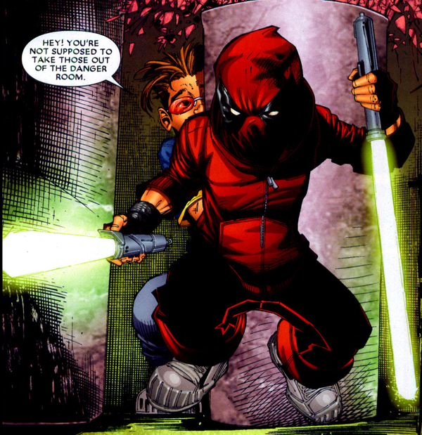 Earth 616 Deadpool And Well in Earth-616 And