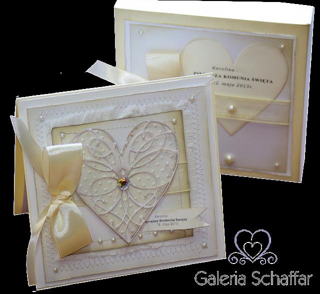 piękne i eleganckie kartki ślubne, kartki komunijne dla dziewczynki, pamiątki chrztu świętego, podziękowania, kartki z życzeniami, kartki na roczek, kartki urodzinowe, a także wyjątkowe i nietypowe zaproszenia ślubne galeria schaffar dominika Omelan