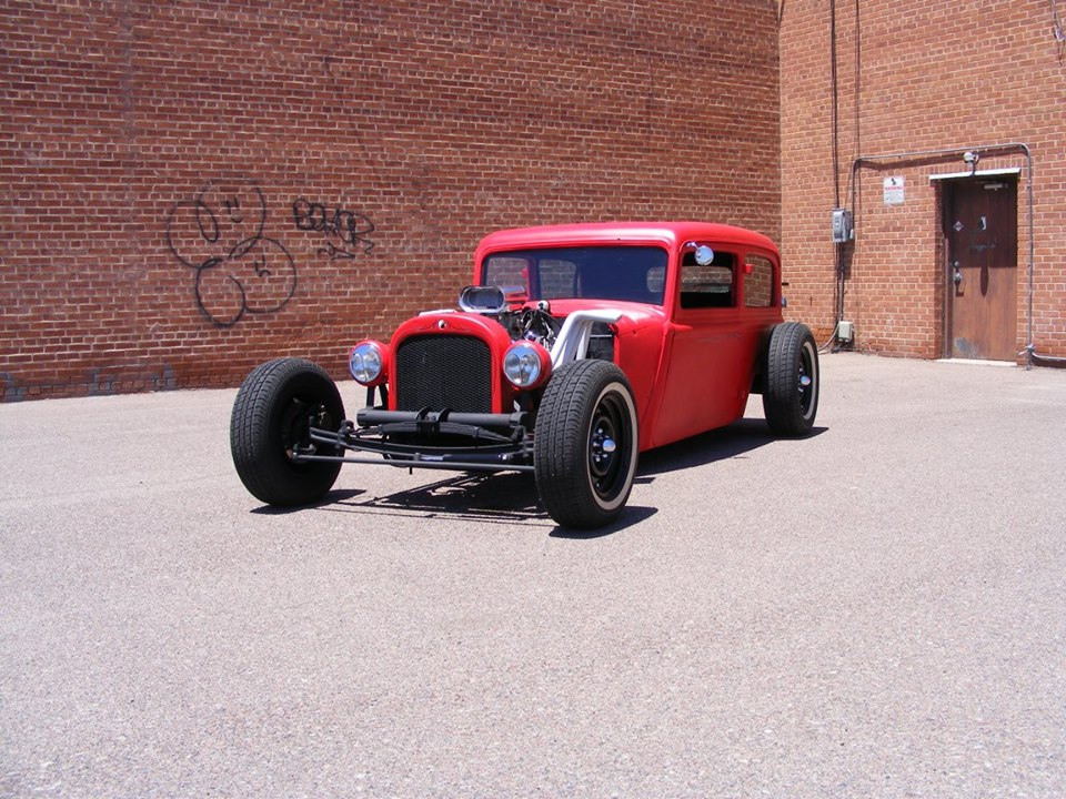 RUSS ELLIS SELLS 1934 DODGE TUDOR: CHECK OUT THIS RAT ROD DONE BY ...