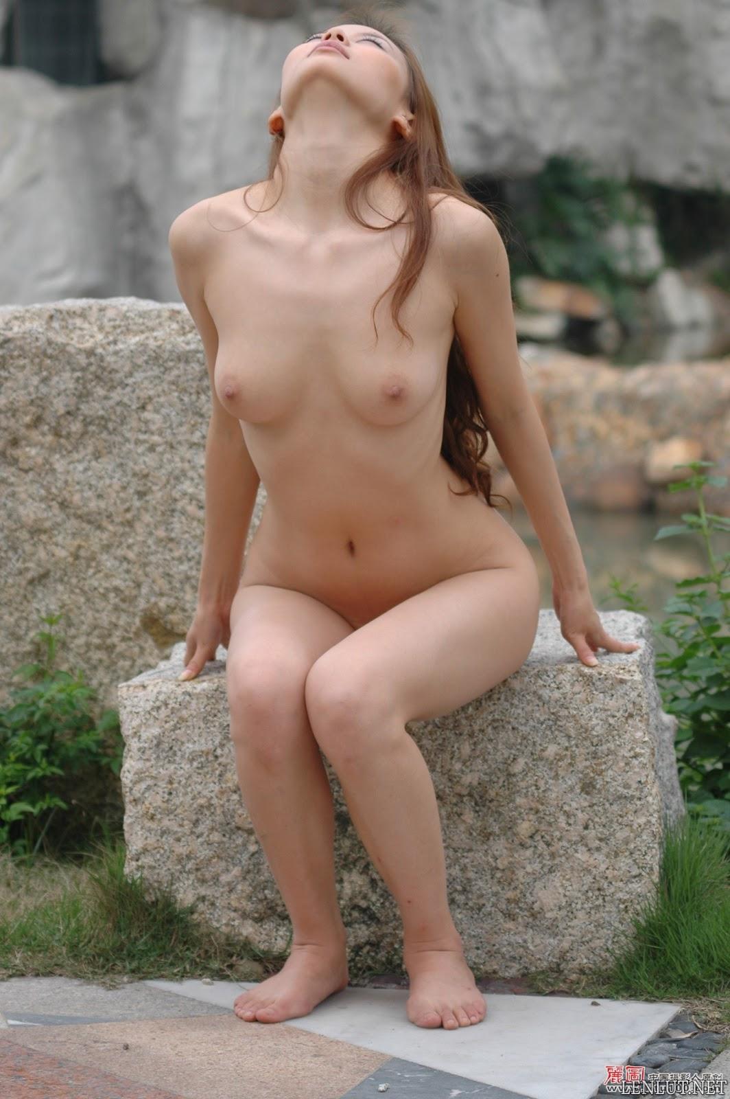 06 Ảnh nude người mẫu Trung Quốc