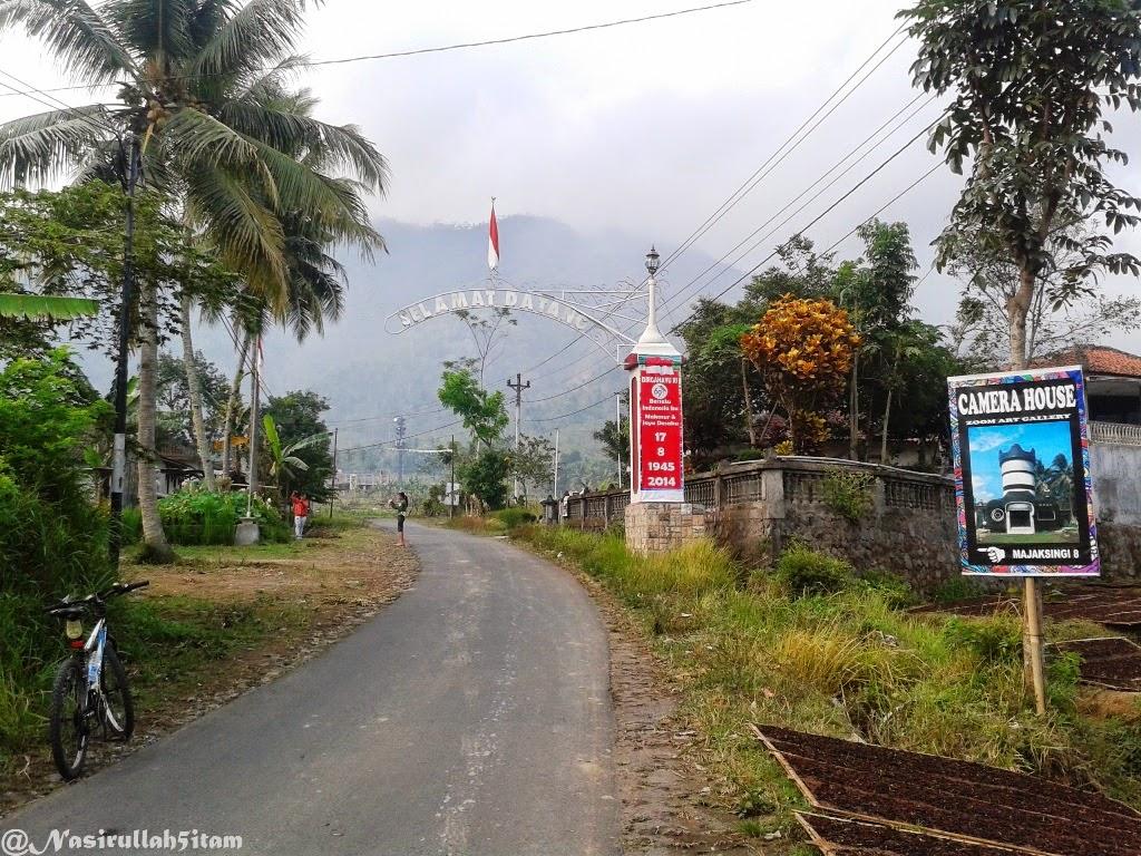 Jalan menuju Majaksingi, Magelang