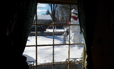The great snowman of 2012/2013