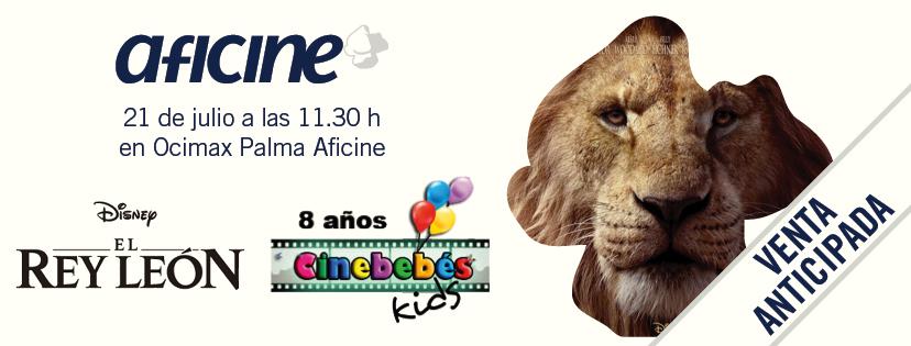 El Rey León EN CINEBEBÉS
