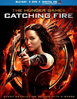 hunger games catching fire dvd blu-ray cover