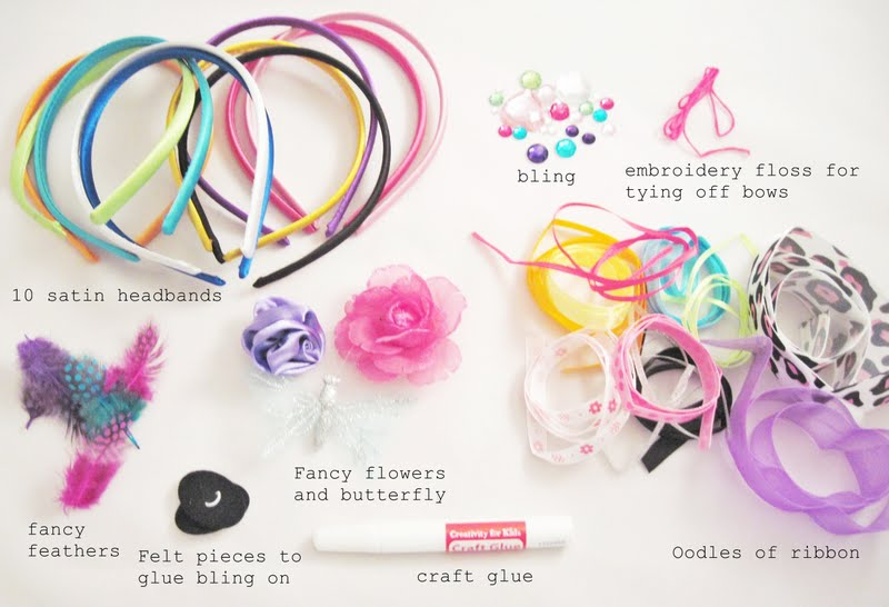 Two shades of pink giveaway creativity for kids fashion for Creativity for kids fashion headbands craft kit