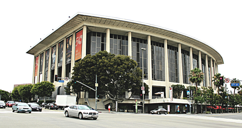 dorothy chandler pavilion los angeles