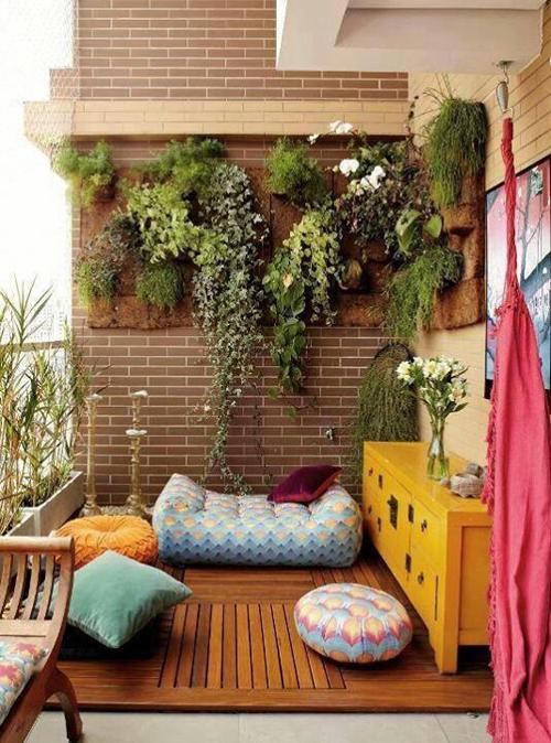 Decora con rojas: las 5 claves para tener el mejor balcón del ...