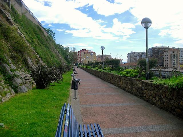 Parque de Sotileza o del Agua en Santander