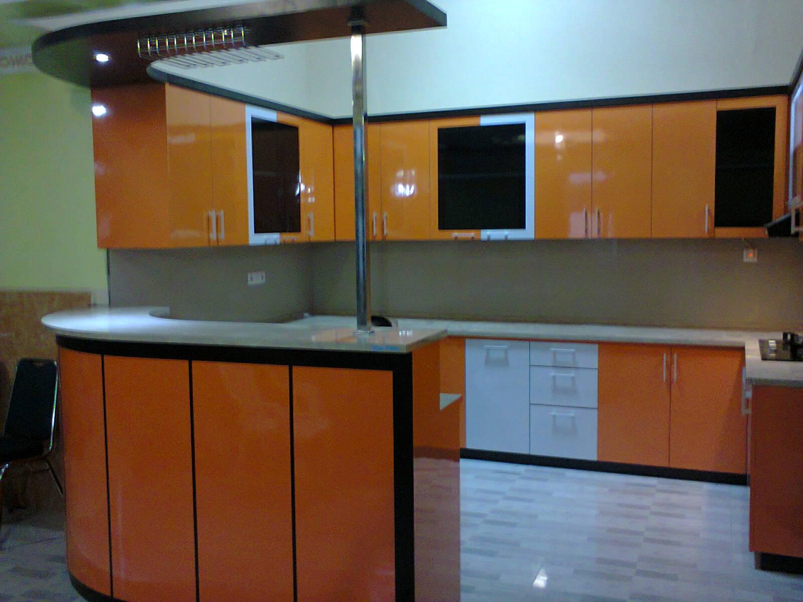 Kitchen set minimalis mini bar