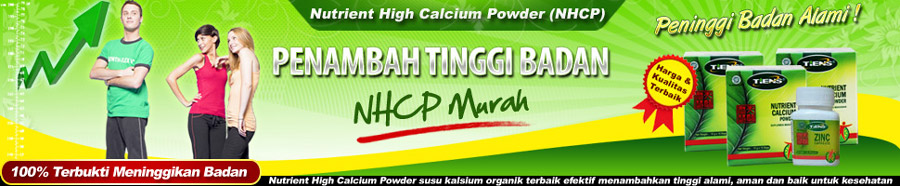 Nutrient High Calcium Powder (NHCP) + ZINC Termurah