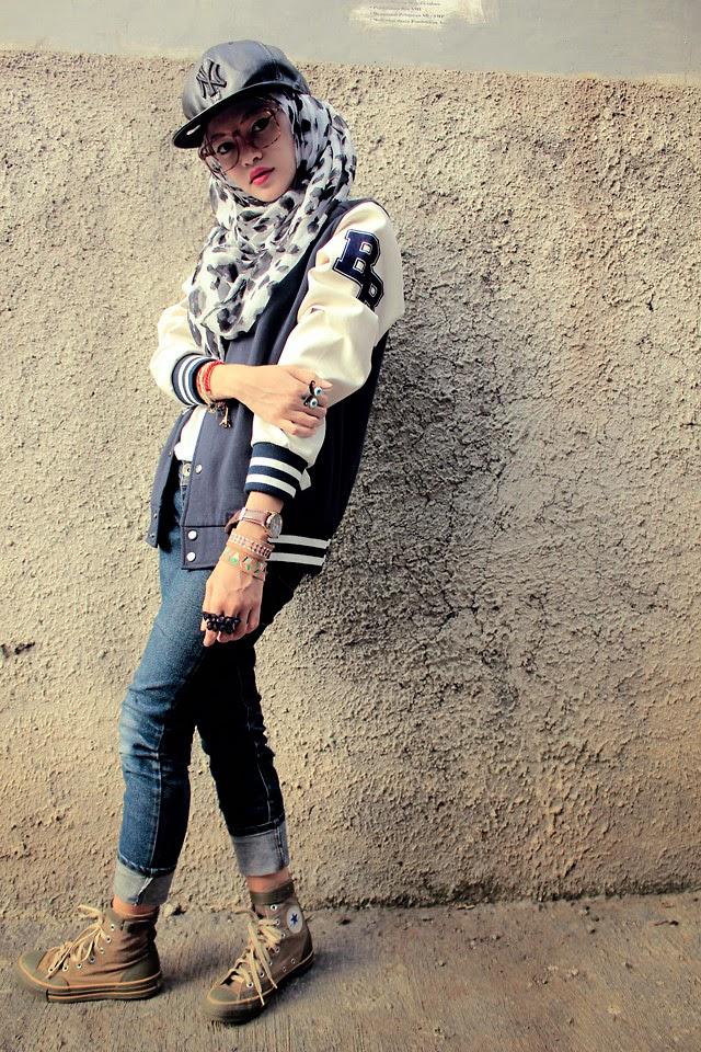 Swag Girl With Hijab