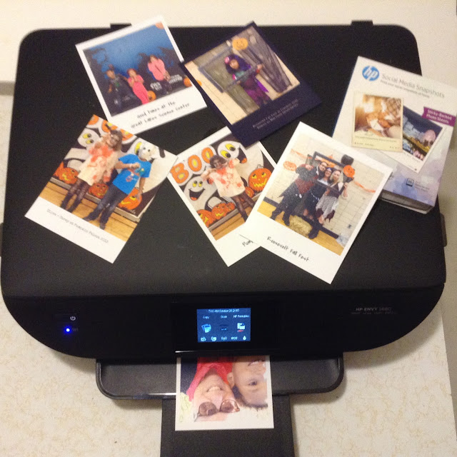 HP Social Media Snapshot Prints #stickapic