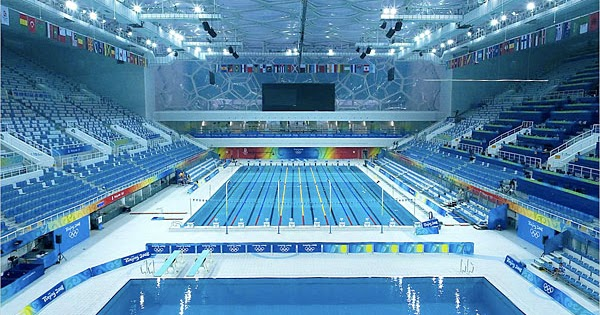 Olympic Swimming Pool Diagram home mee: swimming at the 2008 beijing's olympic pool