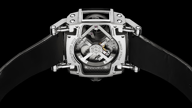 RJ - Romain Jerome Moon Orbiter Watch back